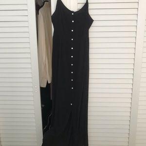 Black Cotton On midi dress